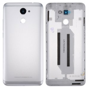 Huawei Enjoy 7 Plus Y7 Prime Battery Door Silver Ori