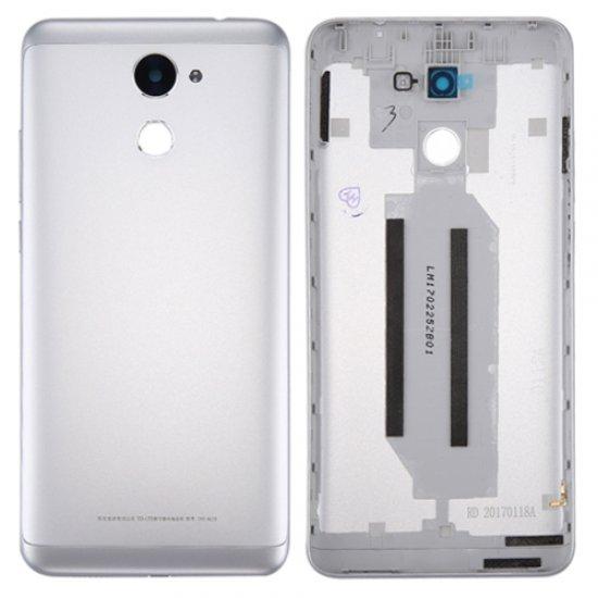 Huawei Enjoy 7 Plus Y7 Prime Battery Door Silver Ori