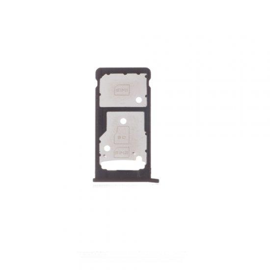 Huawei Enjoy 7 Plus Y7 Prime SIM SD Card Tray Black Ori (Dual Card Version)