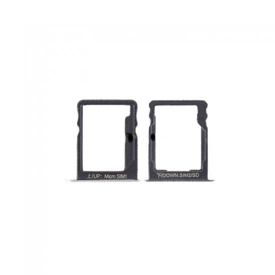 Huawei Enjoy 5S Micro SIM Tray NANO SD Card Tray Silver