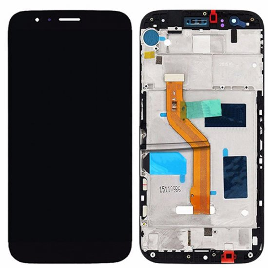 Huawei G8 LCD Screen Replacement With Frame Black OEM
