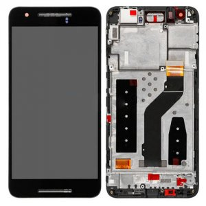 Huawei Nexus 6P LCD Screen Replacement With Frame Black OEM