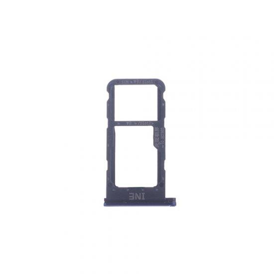 Huawei P Smart+ (Nova 3i) SIM Card Tray Blue Ori (Dual Card Version)