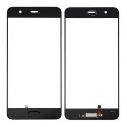 Huawei P10 Plus Glass Lens With Fingerprint Sensor Flex Cable Black OEM