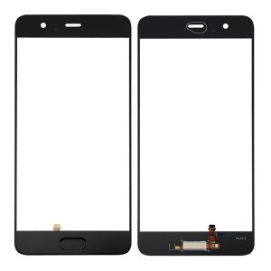 Huawei P10 Plus Glass Lens With Fingerprint Sensor Flex Cable Black OEM