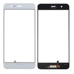Huawei P10 Plus Glass Lens With Fingerprint Sensor Flex Cable White OEM