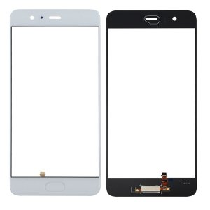 Huawei P10 Plus Glass Lens With Fingerprint Sensor Flex Cable White OEM