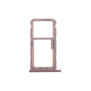 Huawei P20 Lite Nova 3e SIM Card Tray Pink Ori Dual Card Version