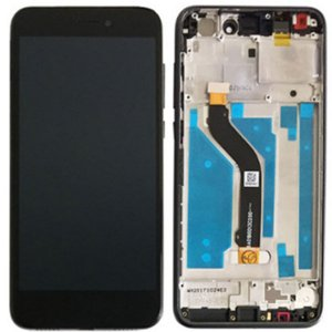 Huawei P8 Lite 2017/P9 Lite 2017 LCD Screen Replacement With Frame Black HQ