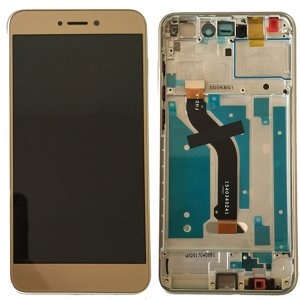 Huawei P8 Lite 2017/P9 Lite 2017 LCD Screen Replacement With Frame Gold  HQ