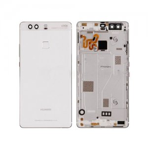 Huawei P9 Plus Battery Door with Fingerprint Flex Cable White