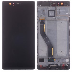 Huawei P9 Plus LCD Screen Replacement With Frame Black HQ