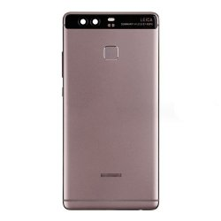 Huawei P9 Plus Battery Door with Fingerprint Flex Cable Gray