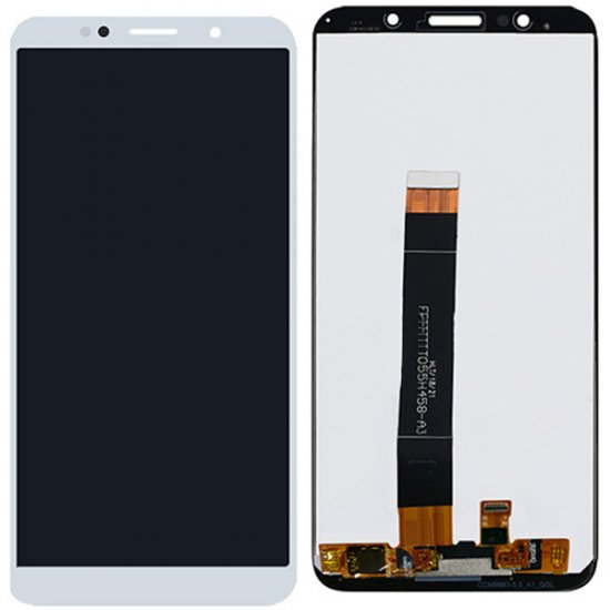 Huawei Y5 Prime (2018) LCD with digitizer assembly White Ori