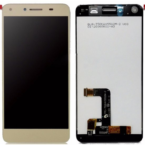 Huawei Honor Play 5 Y5II LCD with digitizer assembly  Gold OEM