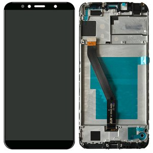 Huawei Y6 2018 LCD Screen Replacement With Frame Black Ori