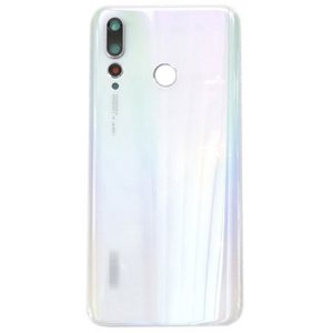 Huawei Nova 4 Battery Door With Camera Lens  White Ori