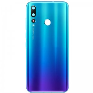 Huawei Nova 4 Battery Door With Camera Lens Blue Ori