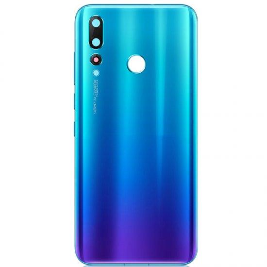 Huawei Nova 4 Battery Door With Camera Lens Blue Ori