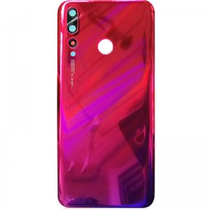 Huawei Nova 4 Battery Door With Camera Lens Red Ori