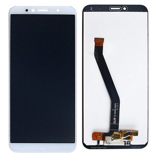 Huawei Y6 (2018) LCD with digitizer assembly  White Ori