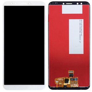 Huawei Y7 Prime (2018) LCD with digitizer assembly  White Ori