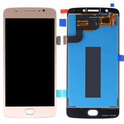 Motorola Motorola Moto E4 LCD with Digitizer Assembly Gold OEM (European Version)