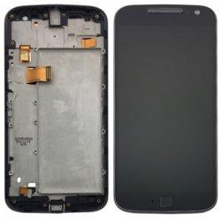 Motorola Moto G4 Plus LCD Screen Replacement With Frame Black Ori