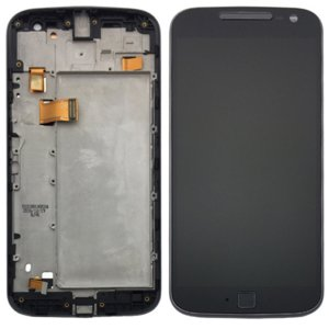 Motorola Moto G4 Plus LCD Screen Replacement With Frame Black Ori