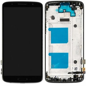 Motorola Moto G6 LCD Screen Replacement With Frame Black Ori