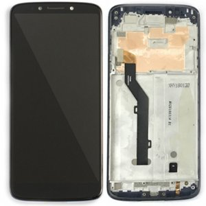 Motorola Moto G6 Play LCD Screen Replacement With Frame Black Ori