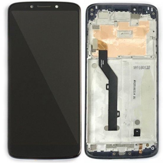 Motorola Moto G6 Play LCD Screen Replacement With Frame Black Ori