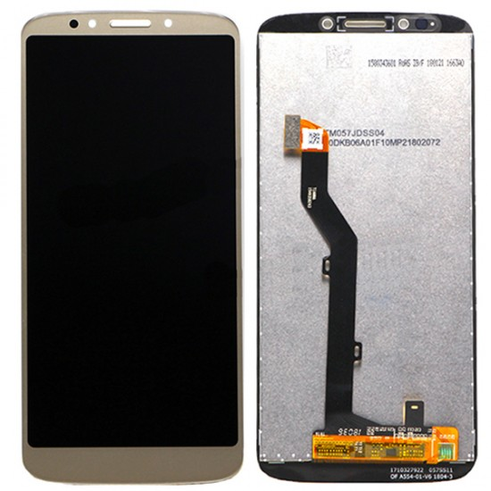Motorola Moto G6 Play LCD with Digitizer Assembly Gold Ori