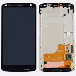Motorola X 1580 LCD with Digitizer Assembly Black Ori
