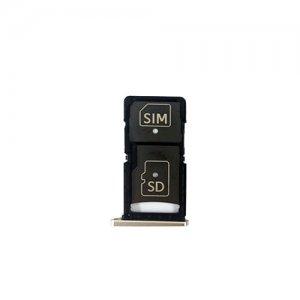 Motorola X Force XT1580 XT1585 SIM Card Tray Gold