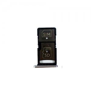 Motorola X Force XT1580 XT1585 SIM Card Tray Silver