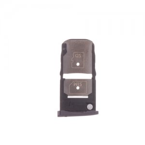 Motorola Moto Z Force SIM SD Card Tray Black Ori