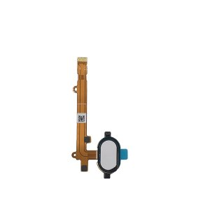 Motorola Moto Z2 Play Fingerprint Sensor Flex Cable White OEM
