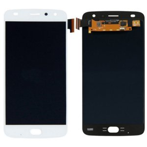 Motorola Moto Z2 Play LCD with Digitizer Assembly White Ori