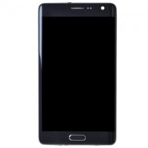 Samsung Galaxy Note Edge SM-N915   LCD Screen With Frame Gray OEM