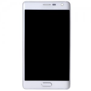 Samsung Galaxy Note Edge SM-N915   LCD Screen With Frame White OEM