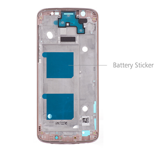 Motorola Moto G6 Front Housing Pink Original