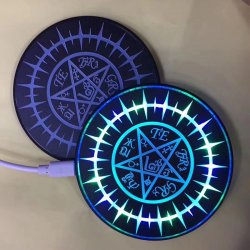 KD-1 10W Fast Charge Magic Circle Wireless charger for iPhone Samsung Huawei Xiaomi dedicated wireless charging mobile phone