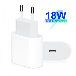 18W USB-C Power Adapter EU Plug