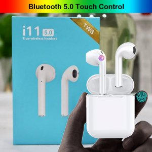 i11 TWS Bluetooth 5.0 Touch Wireless Earphones for iPhone Samsung Xiaomi Huawei LG