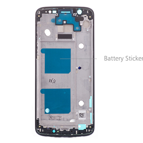 Motorola Moto G6 Front Housing Dark Blue Original