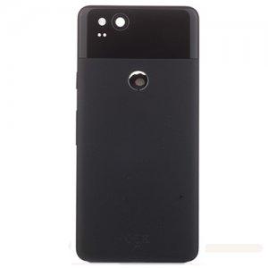 Google Pixel 2 Battery Door Black Original