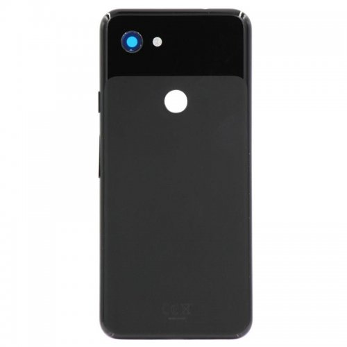 For Google Pixel 3a Battery Cover Black