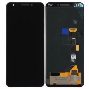 For Google Pixel 3a LCD Screen Black