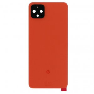For Google Pixel 4 Back Cover Red